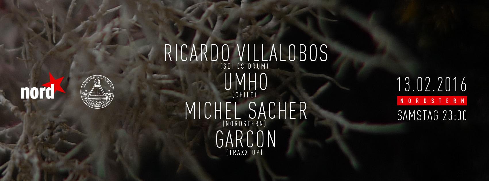 Ricardo Villalobos & Umho - @Nordstern